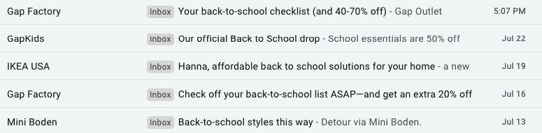 Back to School_Descriptive Subject Lines