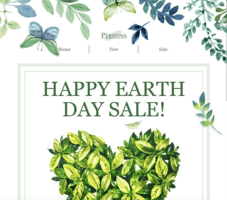 Backgrounds for Earth Day Email Templates_Stripo
