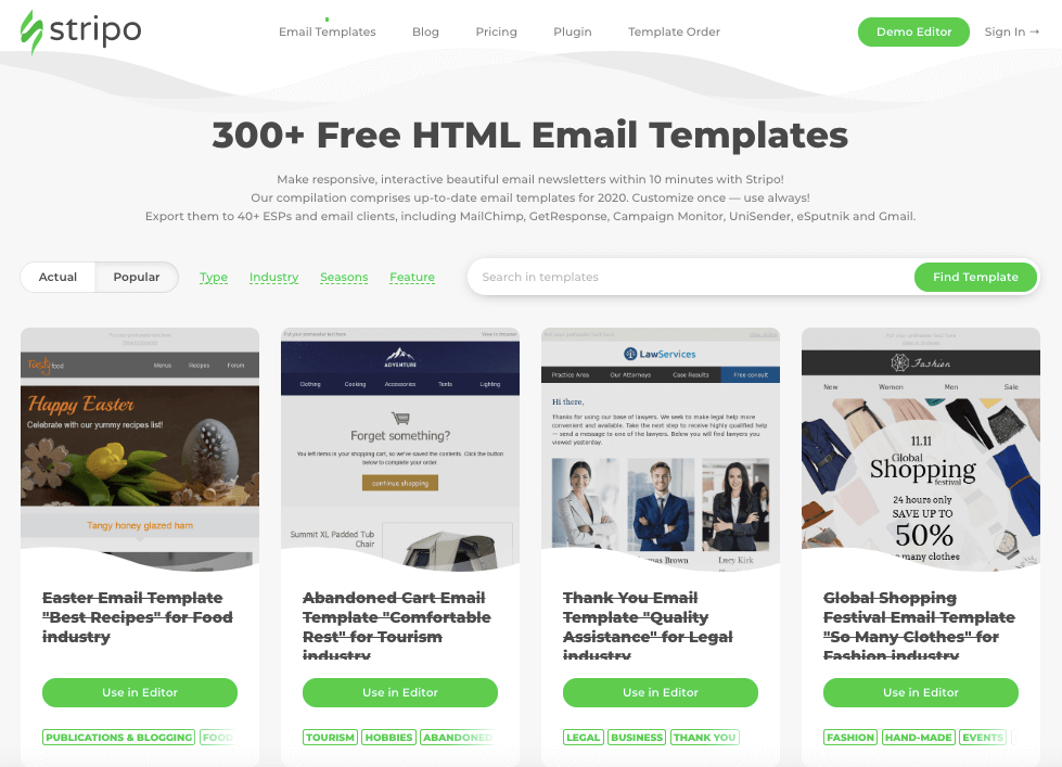 Best HTML Email Builder