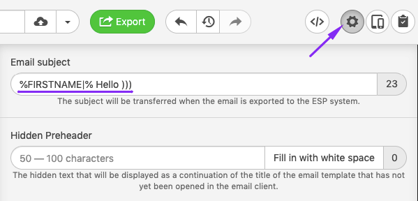 Dynamic Email_Adding Merge Tags to Subject Lines