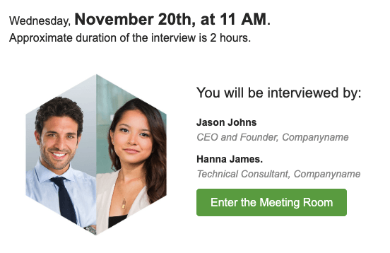 Interview Confirmation Email_HR Building Email Templates
