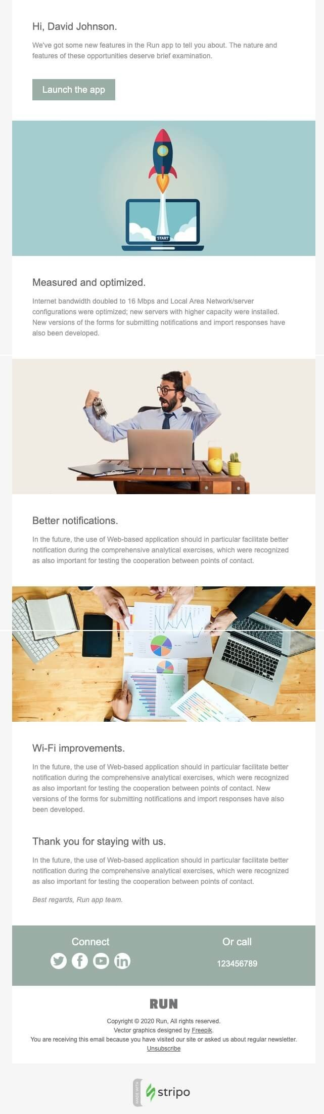 New Product Launch Email Template