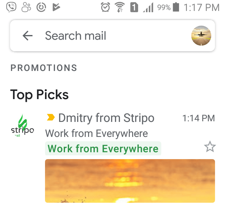 Stripo-Gmail-Promo-Example-of-an-Opened-Email-in-Gmail-Inbox