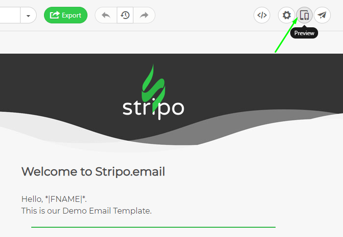 Stripo How to Build AMP Emails with Stripo_Previewing Emails