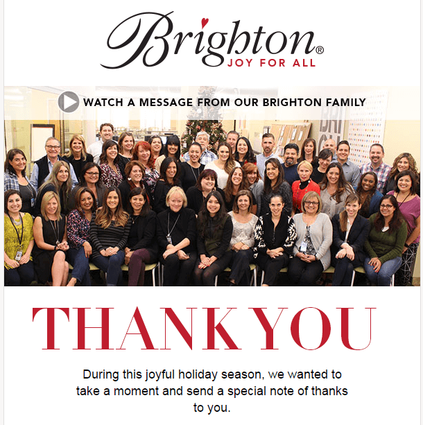 Stripo_Email Marketing for Ecommerce_Example of Thank You Email_Brighton