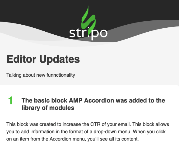 Stripo_Example of an HTML Email