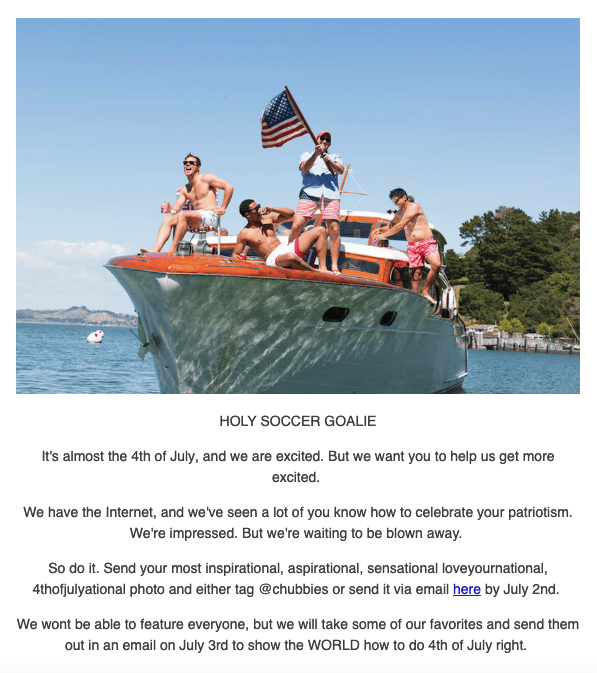 4th of July Email Marketing Ideas — Stripo email