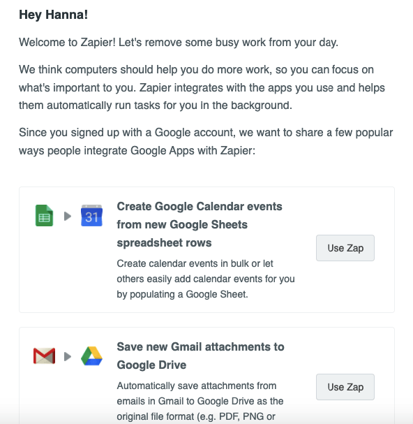 Welcome-Email-by-Zapier