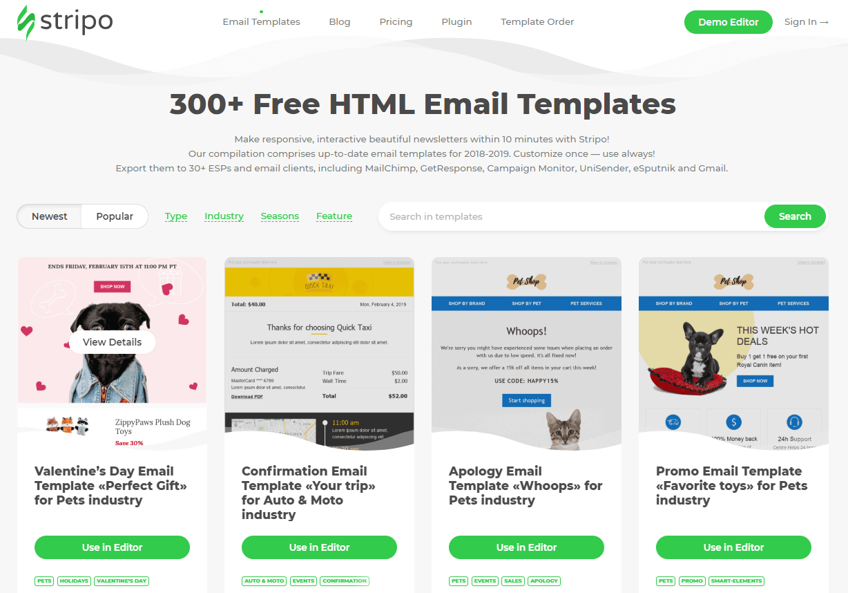10 Best Free Email Template Builders for 2019 — Stripo email
