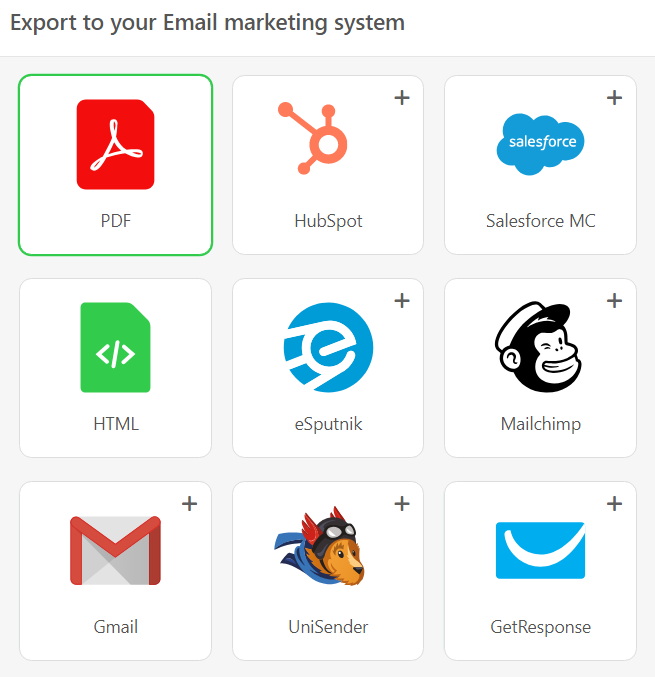 How to Save an Email as a PDF — Stripo email