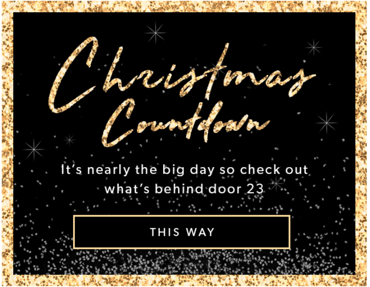 Stripo Christmas email design - Yellow colors