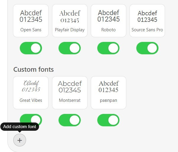 Stripo-Custom-Fonts-Click-to-Add-Custom-Font