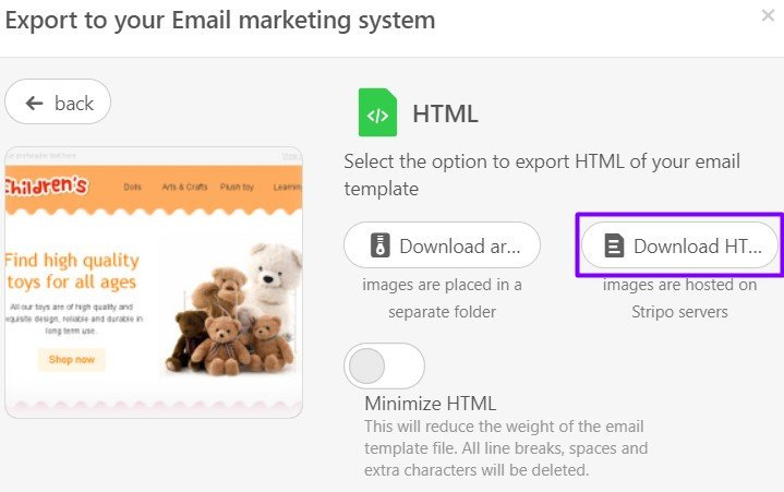 Stripo-Export-to-Gmail-Html-Email-Weigh-Message