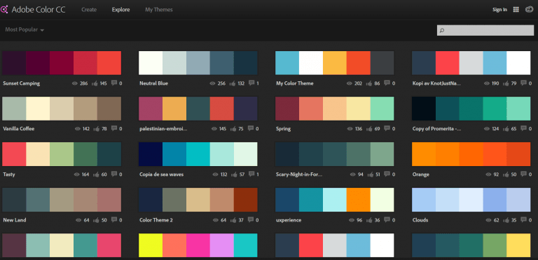 Stripo-Most-Popular-Color-Themes-AdobeColor