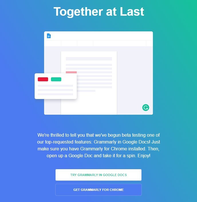 Stripo-Produt-Launch-Grammarly