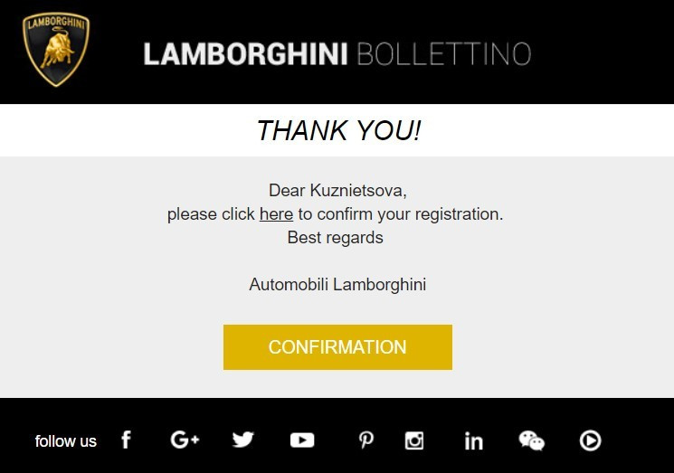 Stripo-Welcome-Emails-Lamborghini