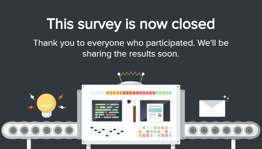 The Survey Is Closed_Survey Invitation Emails