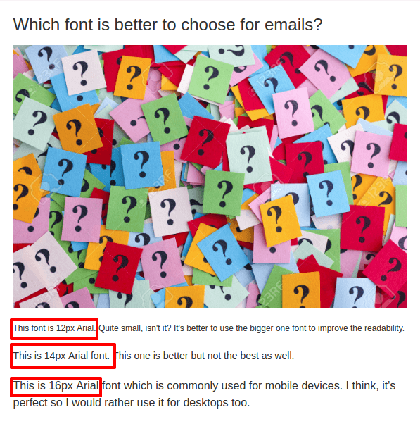 Best Fonts for Email: Usage Tips and Tricks — Stripo email