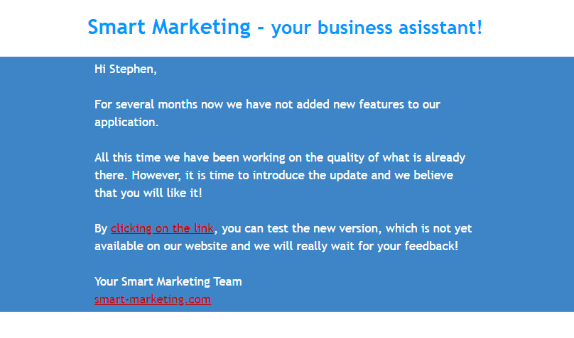 Follow-Up Emails_Example by Smart Marketers